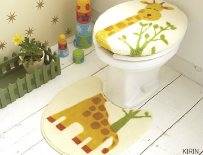 toilet mat set