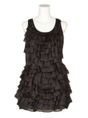 Snidel Tiered frill dress