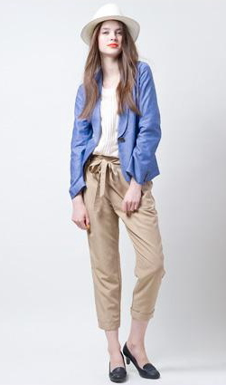 VIS single jacket & cropped pant