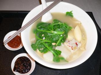 healthy soup noodle