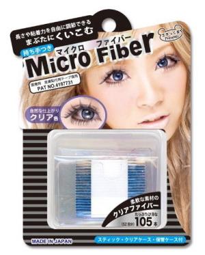 Micro fiber double eyelid