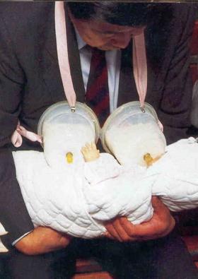 赤ちゃん専用人口母乳ツール