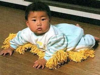赤ちゃん掃除服