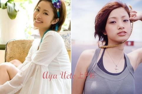 Japanese actress / Ueto Aya