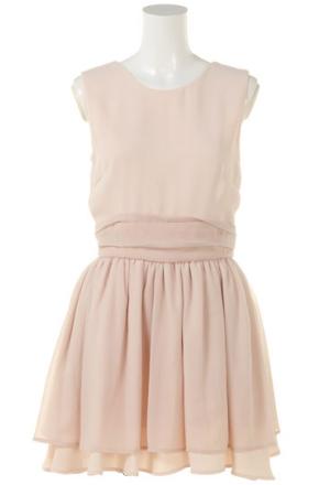 Japanese fashion style / classic, feminine dress