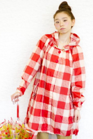 Japanese design raincoat