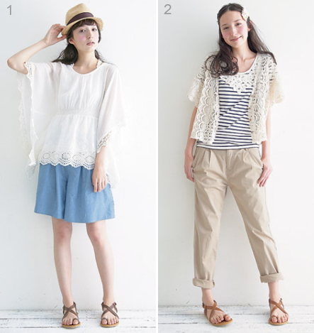 fashion coordinate / summer casual style