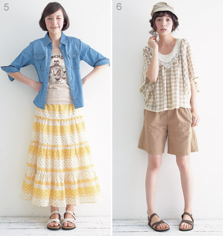 fashion coordinate / summer cute resort style