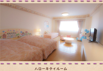 Resort hotel / Hello kitty room