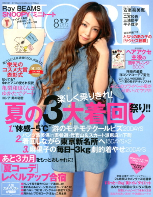 Japanese fashion magazine More