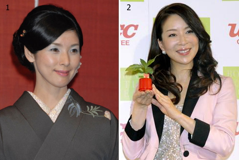 Youthful looking middle age Japanese actress
