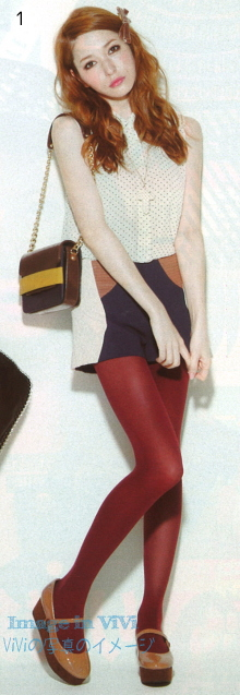 Japanese fashion autumn trends / short (Jacquard fabric)