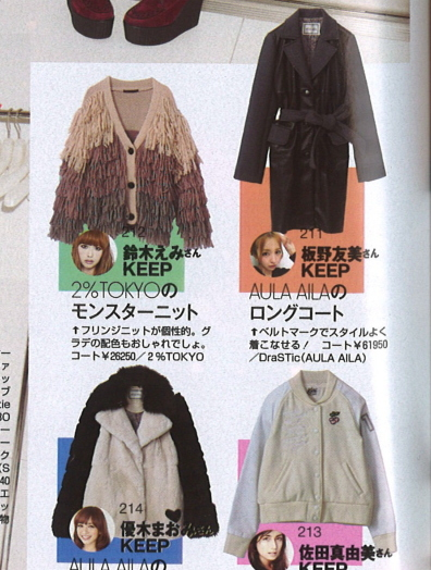 Coat collections from Japanese fashion celebrities