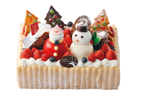 Japan Christmas cake for party