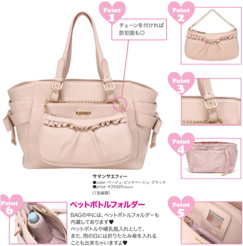 Japanese bag brand / Samantha