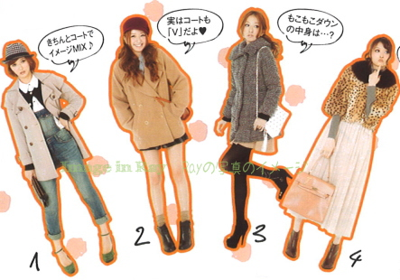 Winter styles layering