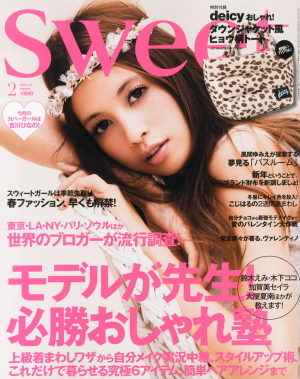 Japanese magazine sweet (Feb)