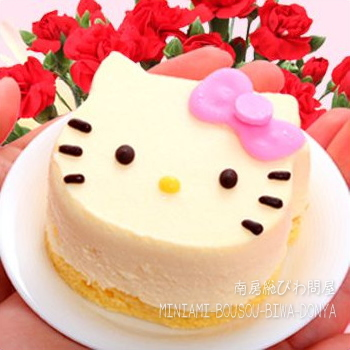 Valentine days limited edition / Hello kitty cheesecake