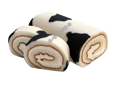 Creative Japanese sweets / swiss roll