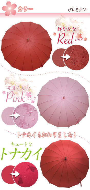 Japanese designed high tech umbrella